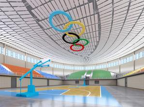 山西长子县体育馆