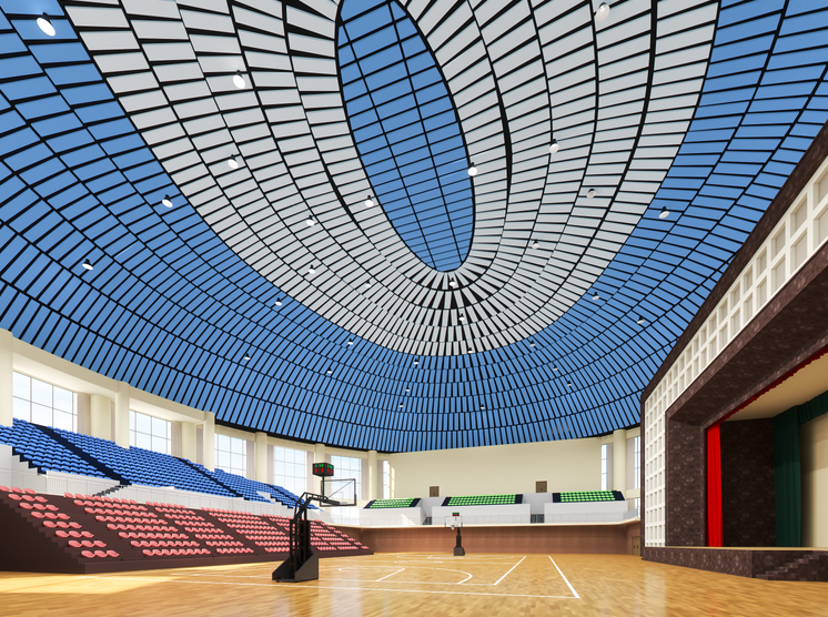 体育馆吸音体